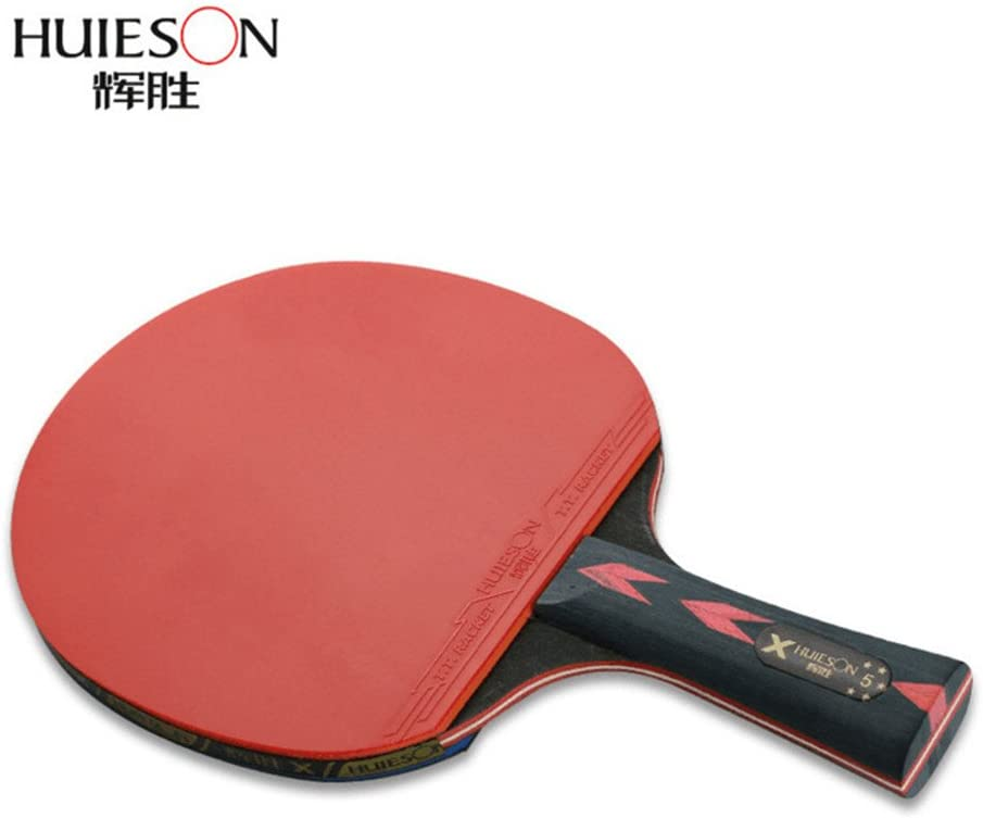 5/estrellas tenis de mesa raqueta doble Shot carbono King en la Beat tenis de mesa Paddle