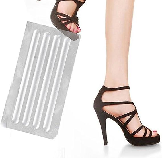 SUPVOX 8pcs Impugnatura per cinturino per scarpe Impugnatura per imbragatura per sandali Sling Back mini adesivi