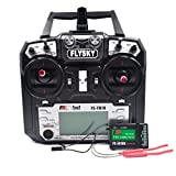 Flysky TM10 FS-TM10 2.4G 10CH RC Transmitter Controller with iA10B Receiver FS i6X Upgrade for RC Helicopter RC Boat RC Drone Heli Fixed Wing Multi Glider FPV