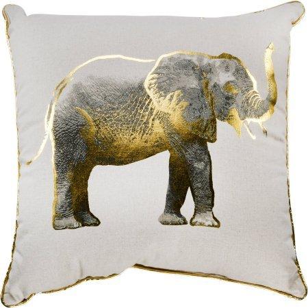 Amazon.com: Almohada con oro elefante 18