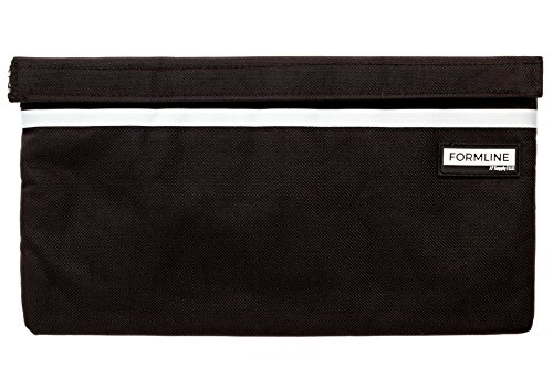 Smell Proof Bag (11x6) by Formline - Discreet Premium Pouch with Organizer Pockets - This Stash Container Case Eliminates Scents and Smelly Odor While Keeping Herb Fresh - Fits Pax Vaporizers