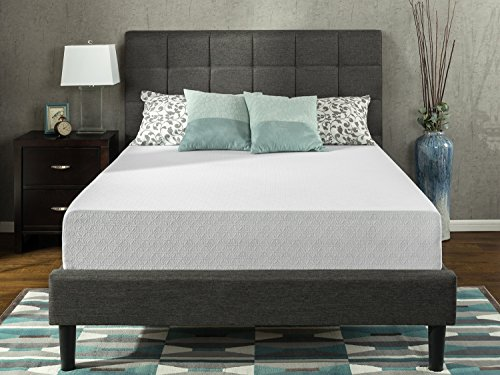 Zinus 12 Inch Gel-Infused Green Tea Memory Foam Mattress, Twin