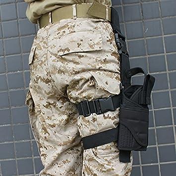 Caza Paintball AGPTEK Funda de Pistola T/áctica Ligero y Durable Tamano Compatible con la Mayor/ía de Pistolas Marcadas para Deporte al Aire Libre Airsoft