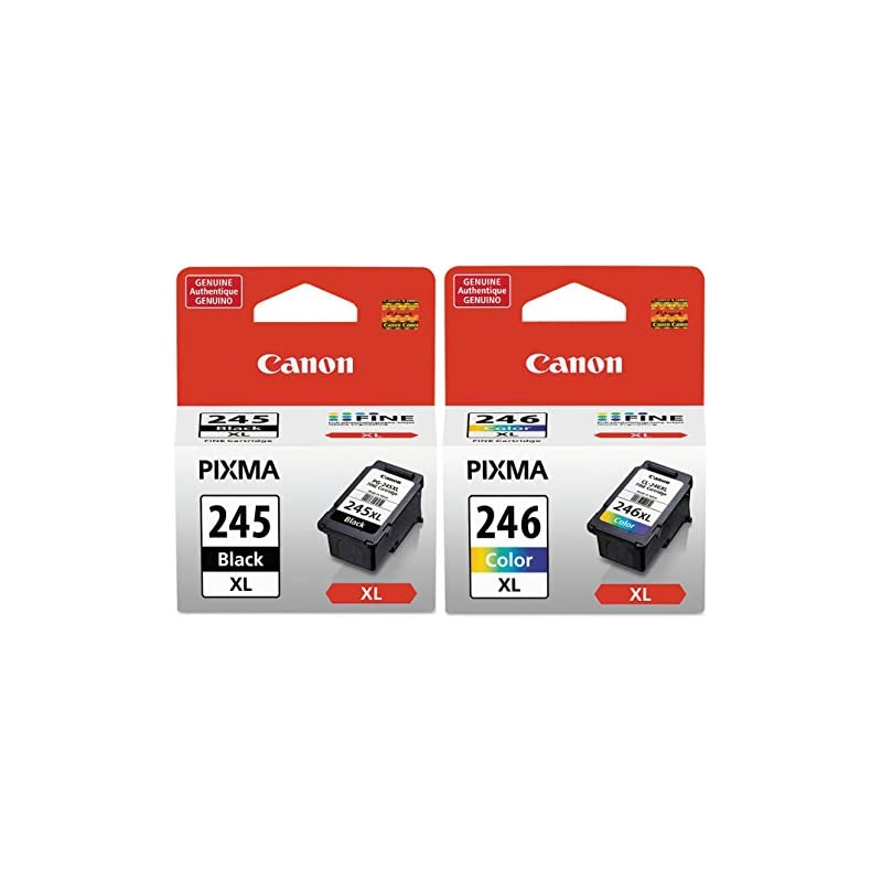 Canon PG245XL Black and CL246XL Color In