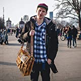 Rustic Town 16 inch Leather Laptop Messenger Bag