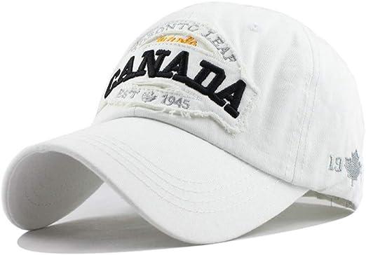 Oevina Gorra de béisbol al Aire Libre Canadá Carta de algodón ...
