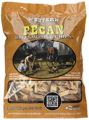 Solid Pecan (WESTERN 80768 Pecan Smoking Chips)
