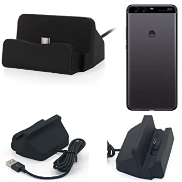 K-S-Trade Dock USB para el Huawei P10 Plus, Negro | estación ...