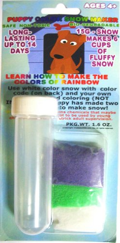 Amazing Magic Color Instant Snow Powder with Test Tube - Great for Gift Giving