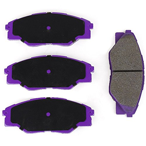 NiBK PN1802 – Noise-Free, Dust-less , Rotor Friendly Premium Ceramic Brake Pads