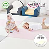 [Alzip Mat] Baby Playmat - ECO Color Folder Duo (Non-Toxic, Non-Slip, Waterproof) (Eco Duo Gray/Pink, XG)