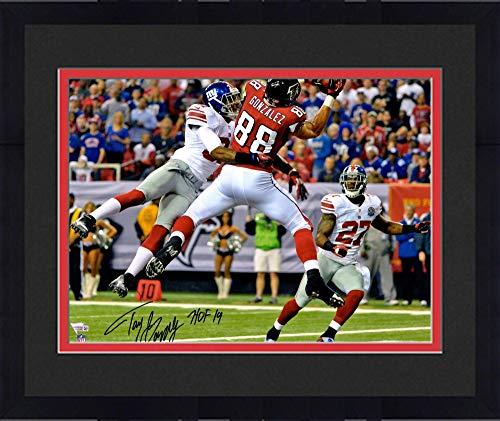 - Framed Tony Gonzalez Atlanta Falcons Autographed 16