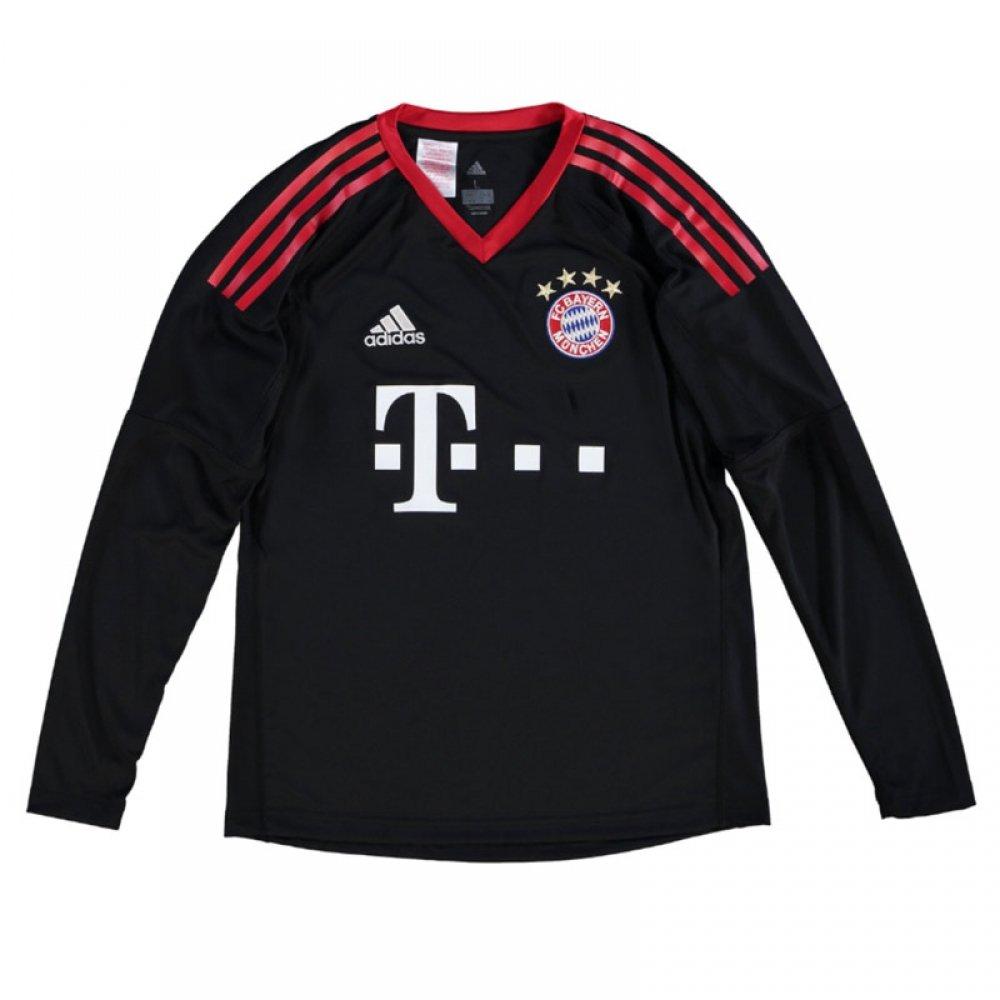 2017-18 Bayern Munich Home Goalkeeper Football Soccer T-Shirt Camiseta - Kids (Manuel Neuer 1): Amazon.es: Deportes y aire libre
