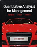 img - for Quantitative Analysis for Management (11th Edition) book / textbook / text book