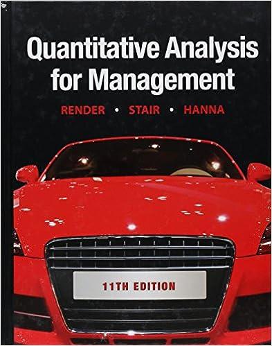 Quantitative analysis for management 11th edition barry render quantitative analysis for management 11th edition 11th edition fandeluxe Image collections