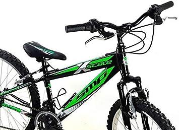 SMP bicicleta MTB Mountain Bike Acero 24 X-Scale Shimano 18 ...