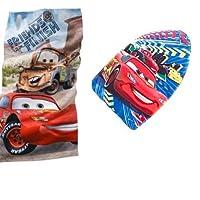 Disney® Cars Beach Towel WITH Disney Pixar Cars Kickboard