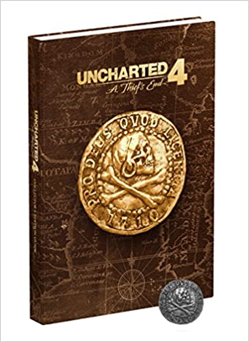 Uncharted 4 A Thiefs End Collectors Edition Strategy Guide