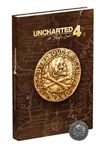 Price comparison product image Uncharted 4: A Thief's End Collector's Edition Strategy Guide