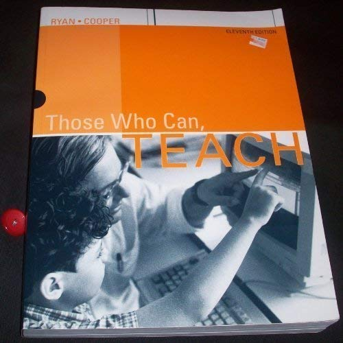 Those Who Can, TEACH (Eleventh Edition)