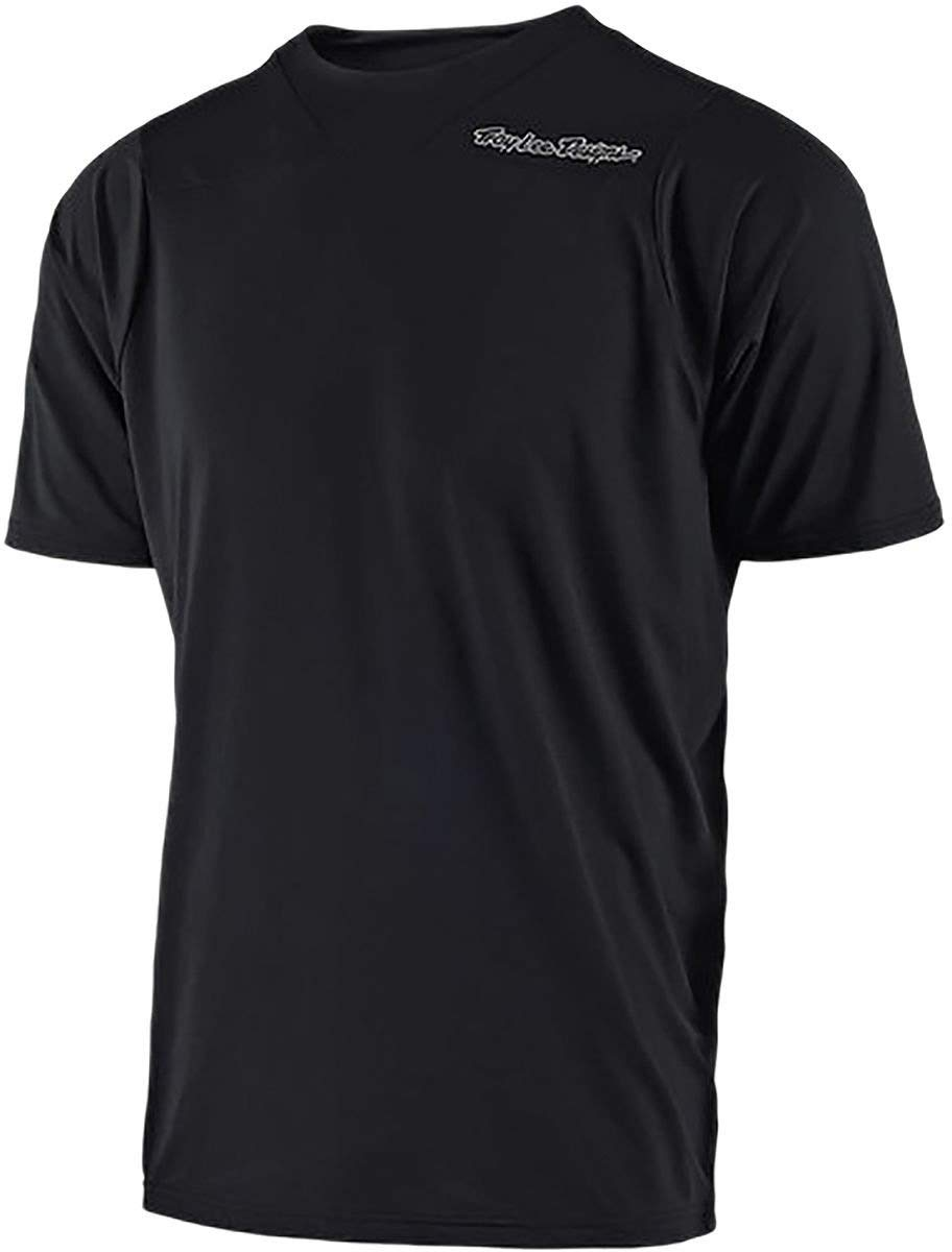 Troy Lee Designs Skyline Short-Sleeve Jersey Mens Solid Heather Gray M