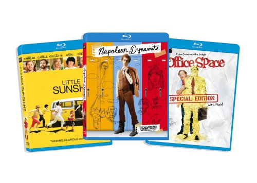 Blu-ray Comedy Bundle, Vol. 4 (Little Miss Sunshine / Napoleon Dynamite / Office Space ) (Amazon.com Exclusive)