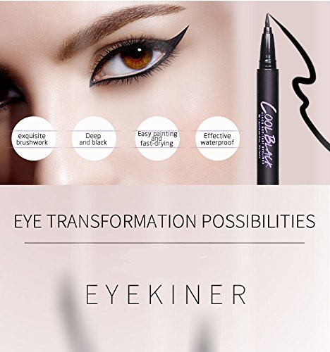 Liquid Eyeliner with New Design, Waterproof Sweat Resist, Perfect Precise Lines,Non-Core High Sealing(2 pack)�