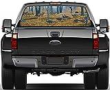 rear window decals cars - Wild Turkey & Deer Rear Window Graphic Decal Sticker Car Truck SUV Animals 329, Regular