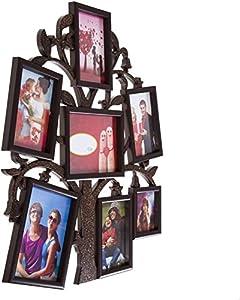 Smera Plastic Photo Frame (Photo Size - 15 * 10cms, 10 * 10cms, 18 * 13cms, 7 Photos)