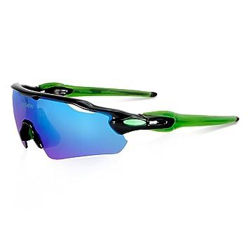 Queshark Full Revoed Lente Polarizado 3 Lentes Intercambiables Para Ciclismo Gafas Deportes Bicicleta Gafas De Sol