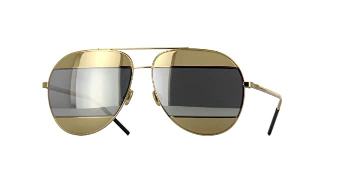 ff556812eae0 Image Unavailable. Image not available for. Color  Authentic Christian Dior  SPLIT 1 0000 DC Rose Gold Sunglasses