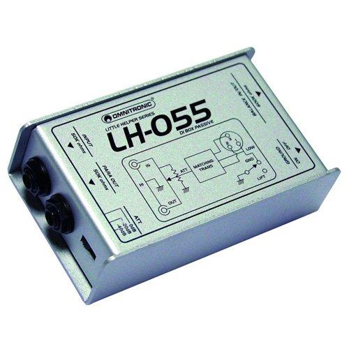 Omnitronic LH-055 Pasivo DI cuadro Plata Pro 10355055 311040