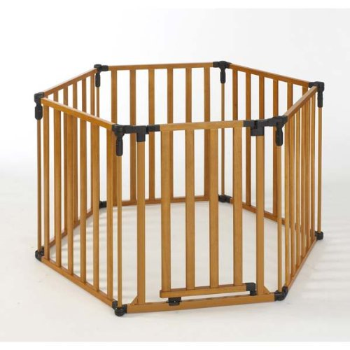 North States 3-in-1 Wood Superyard Playpen by North States
