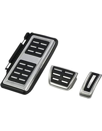 LiTai - Tapas para pedal de freno de acero inoxidable para cubrir la plantilla del freno
