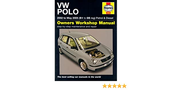 vw polo petrol and diesel 2002 to 2005 haynes service and repair rh amazon com VW Polo 2002 Manual Polo 1998