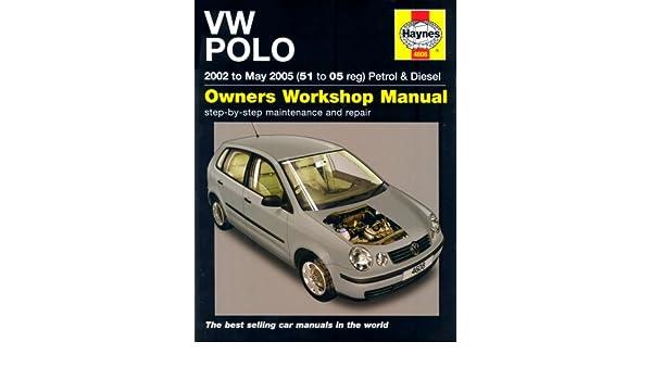 VW Polo Petrol and Diesel: 2002 to 2005 Service & repair manuals: Amazon.es: R. M. Jex: Libros en idiomas extranjeros