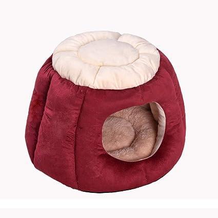 ZHENGDY Cama De Mascotas,Antideslizante Casa para Mascotas Desmontable Cama para Perro Pequeño Y Gatos