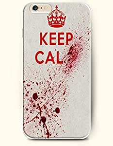 iPhone 6 Case,OOFIT iPhone 6 (4.7) Hard Case **NEW** Case with the Design of keep calm - Case for Apple iPhone iPhone 6 (4.7) (2014) Verizon, AT&T Sprint, T-mobile
