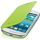itronik® Flip Cover Schützende Display-Klappe für Samsung Galaxy S3 SIII Mini I8910 mint grün