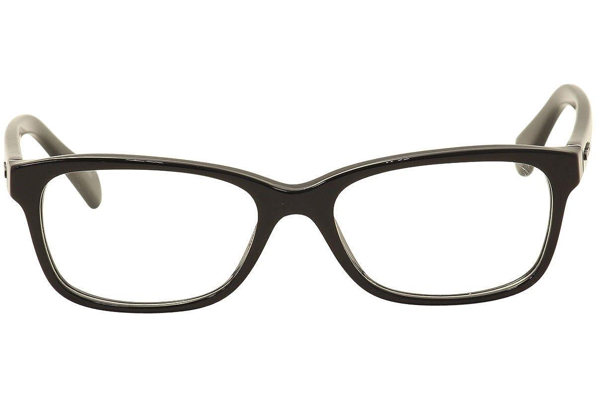 381e08520d Amazon.com  Coach Women s HC6089 Eyeglasses Black 49mm  Clothing