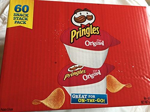 Pringles Original Snack Pack Tubs 60-0.67oz