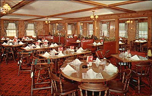 Flagstones Restaurant Newington, New Hampshire Original Vintage Postcard