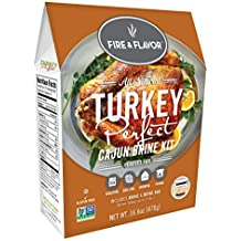 FIRE & FLAVOR Turkey Perfect Kit, Cajun, 16.6 Ounce