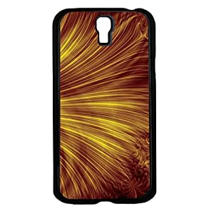 Gold Swril Bakground Hard Snap on Phone Case (Galaxy s4 IV)