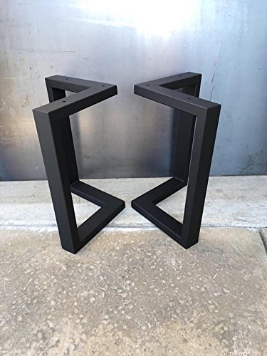 Amazon l shape metal legs metal table legs set of 2 coffee l shape metal legs metal table legs set of 2 coffee table legs watchthetrailerfo