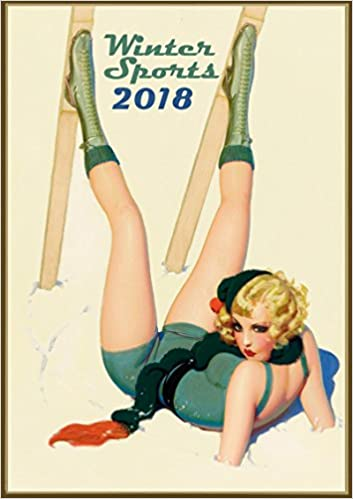 Wall calendar 2018 12 pages 8x11 pin up sexy girl winter sport wall calendar 2018 12 pages 8x11 pin up sexy girl winter sport ski skate vintage pixiluv 9487621807095 amazon books thecheapjerseys Images
