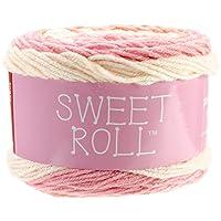 Premier Yarns 1047-21 Sweet Roll Yarn-Peaches and Cream Pop