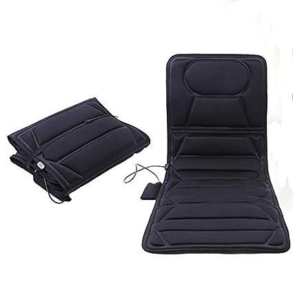 Cojín Masaje Plegable para asientos cojín Vibrador para ...