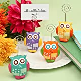 Hand Painted Ceramic Owl Design Place Card/Photo Holders , 96