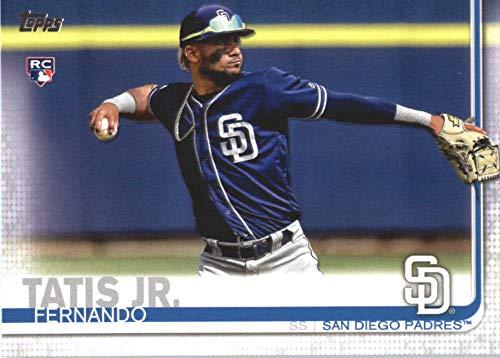 (2019 Topps #410 Fernando Tatis Jr. San Diego Padres Rookie Baseball Card)